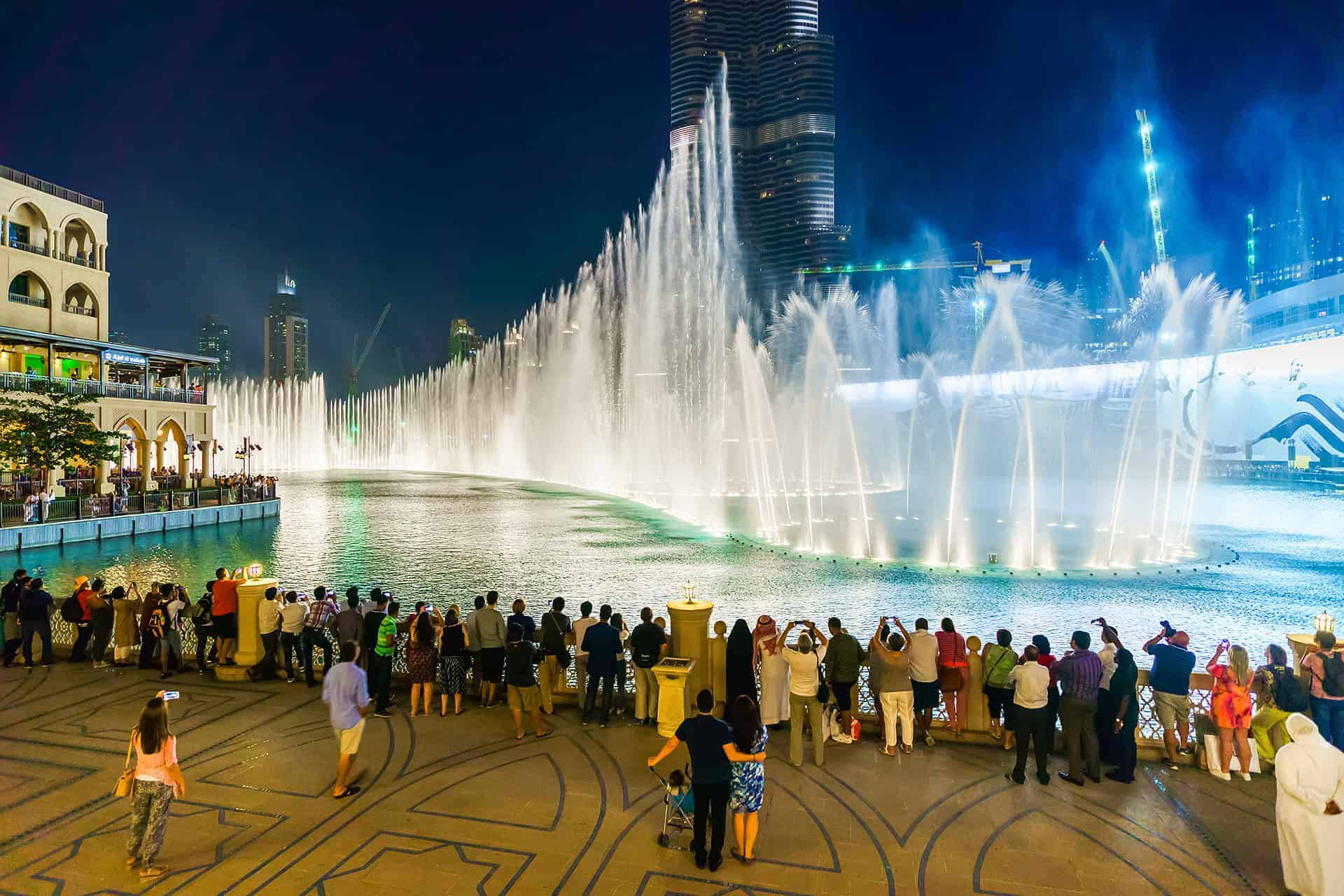 spectacle fontaine dubai