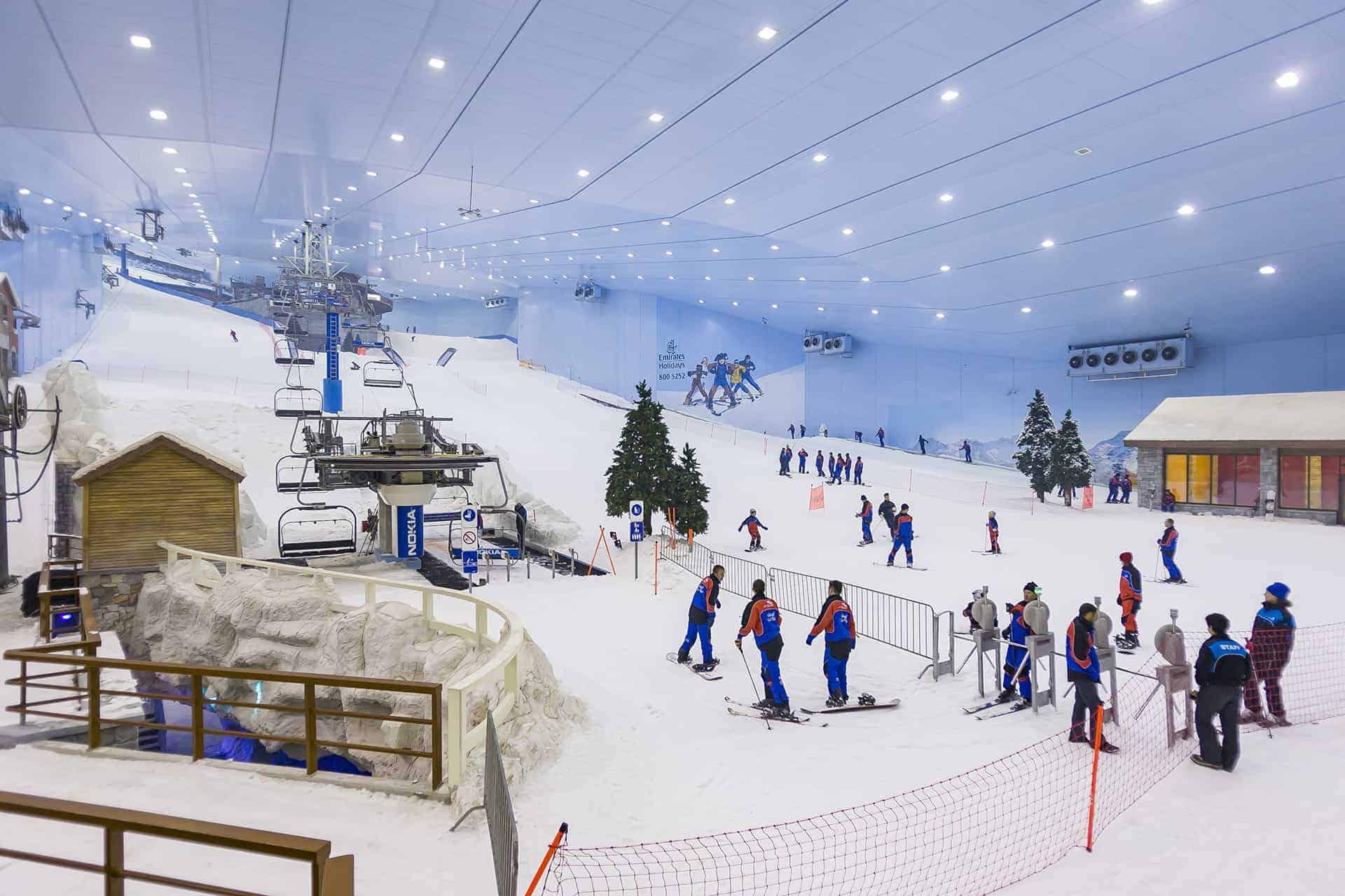 faire du ski a dubai