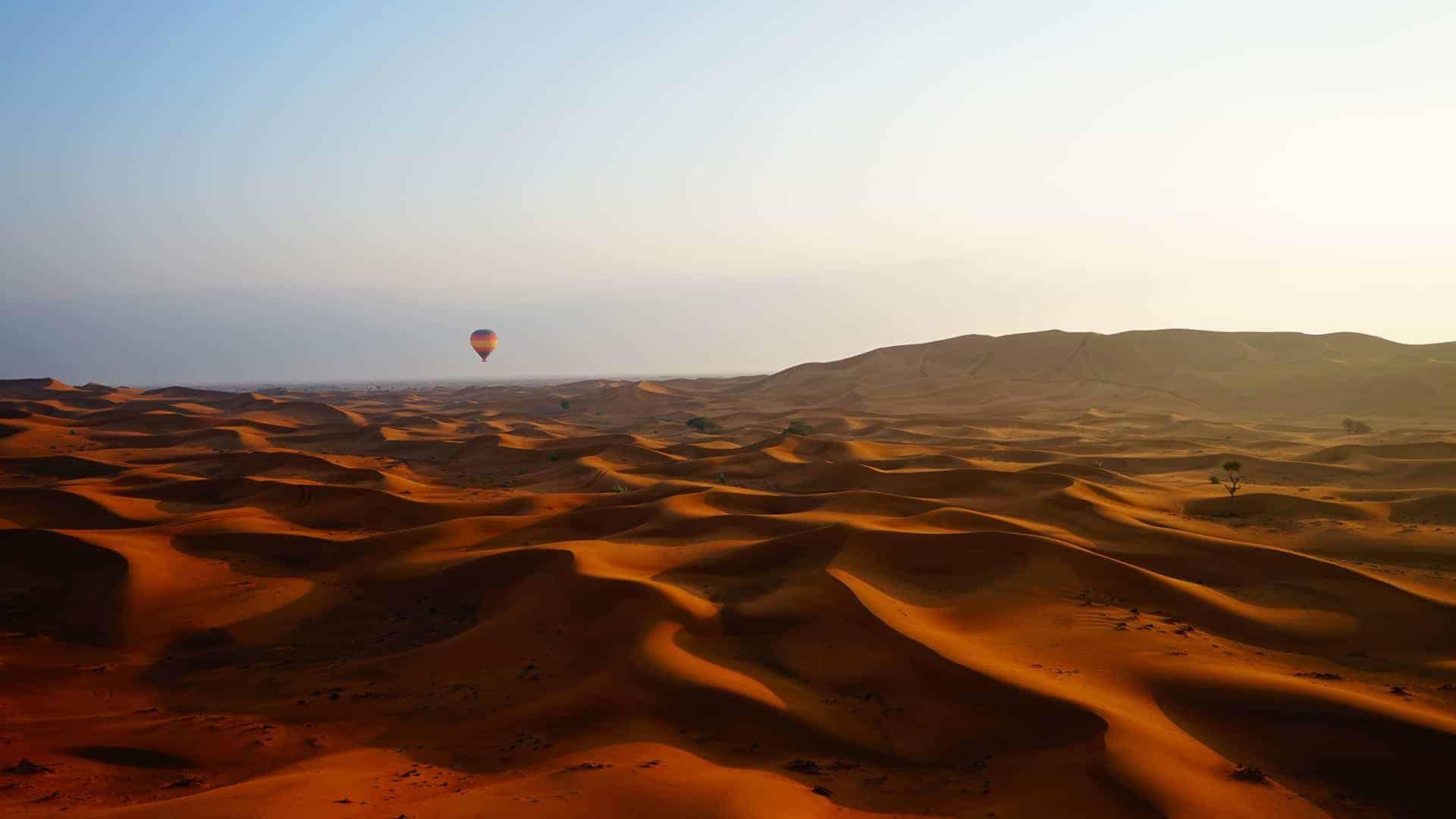 vol montgolfiere dubai