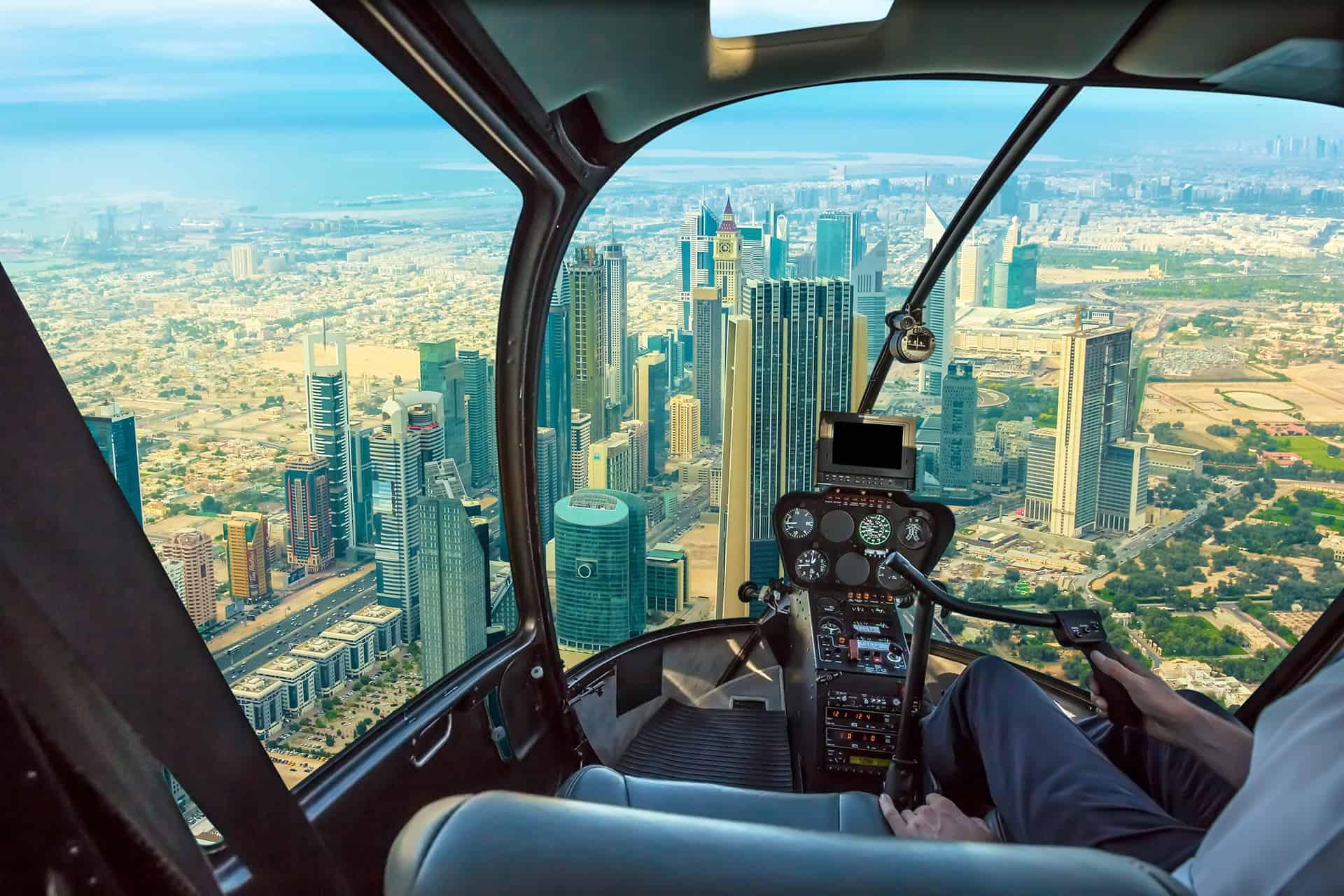 helicoptere dubai