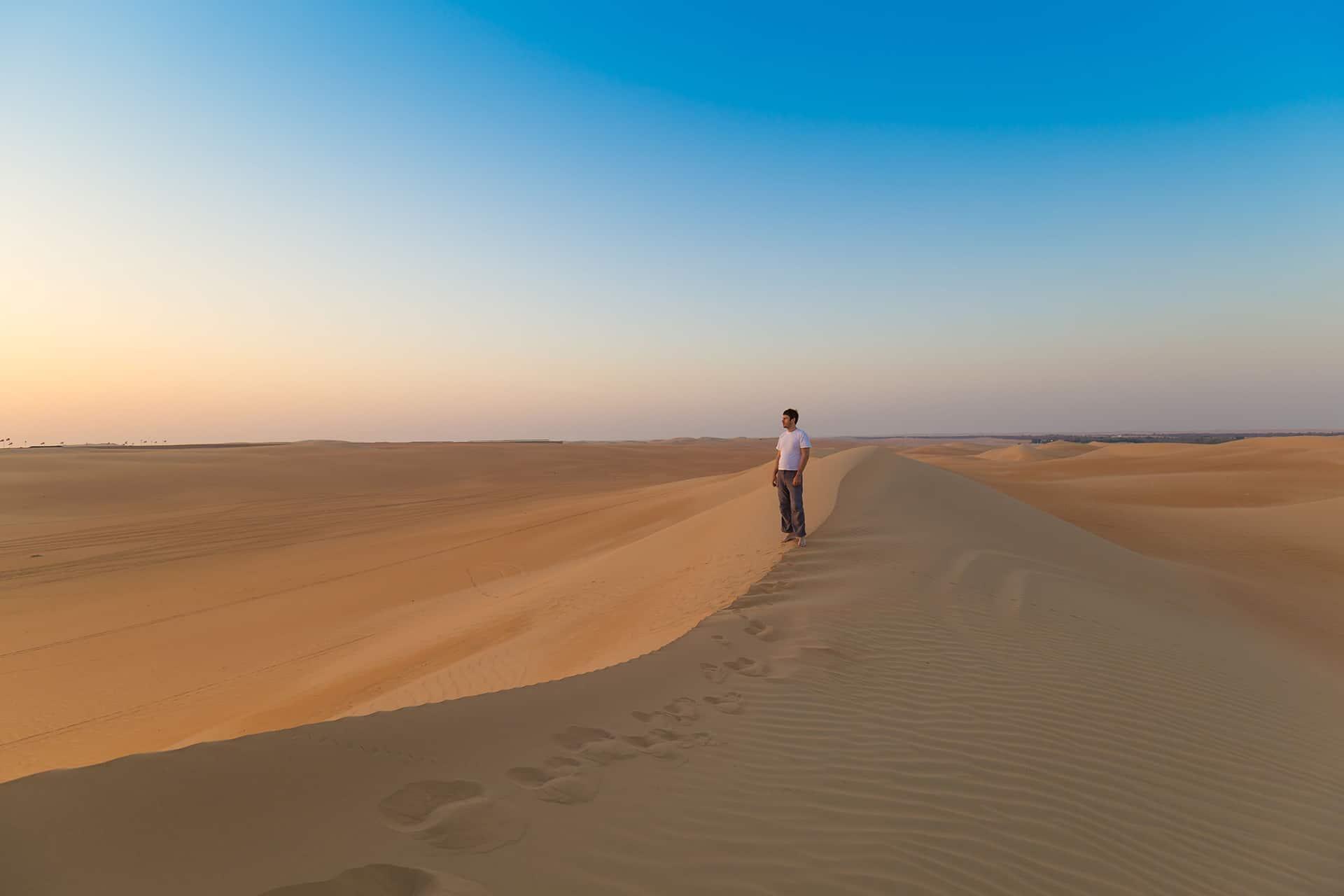 sable fin coucher de soleil