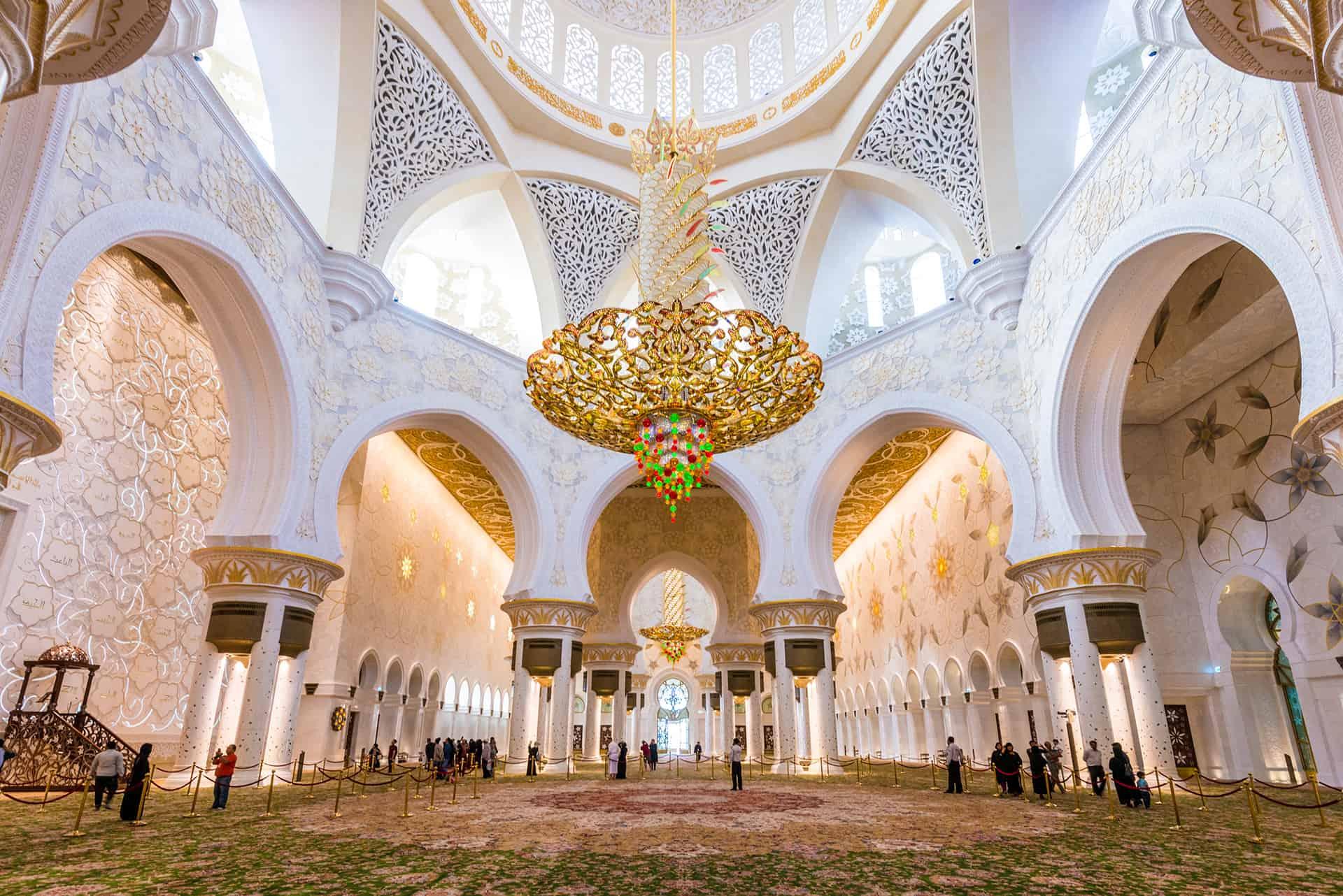 visite interieur mosquee