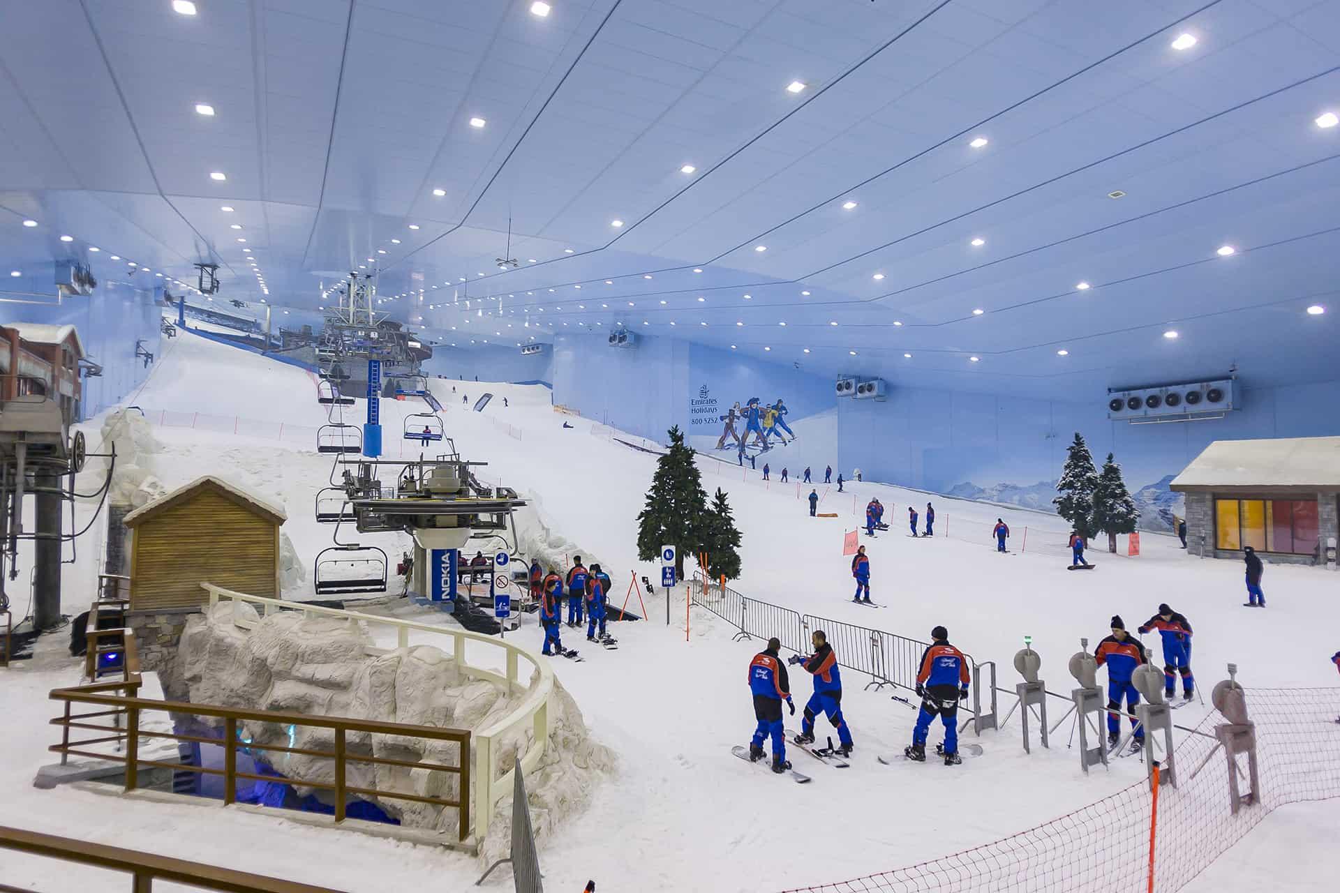 tourisme ski dubai