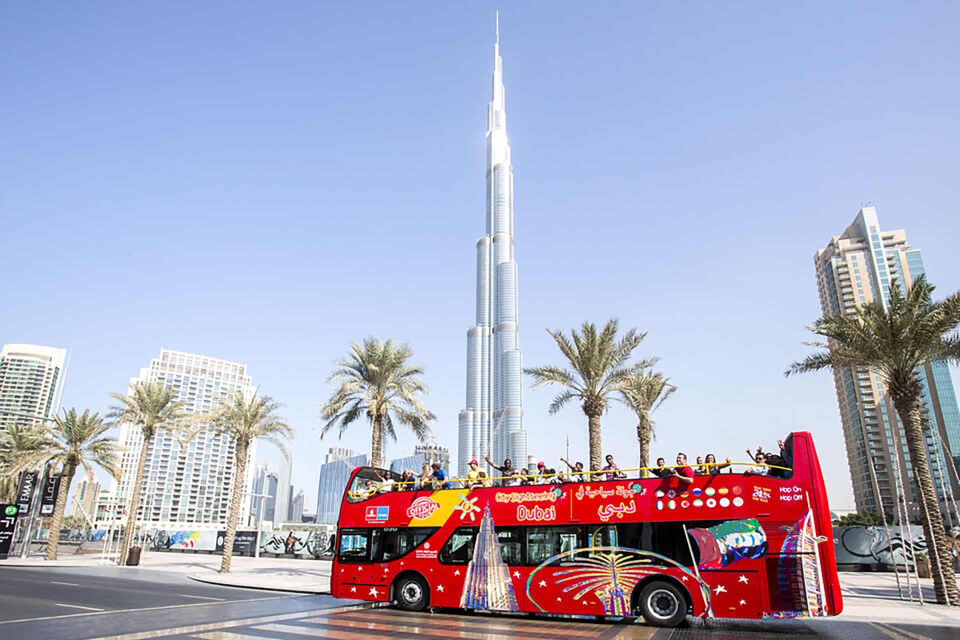 bus touristique dubai