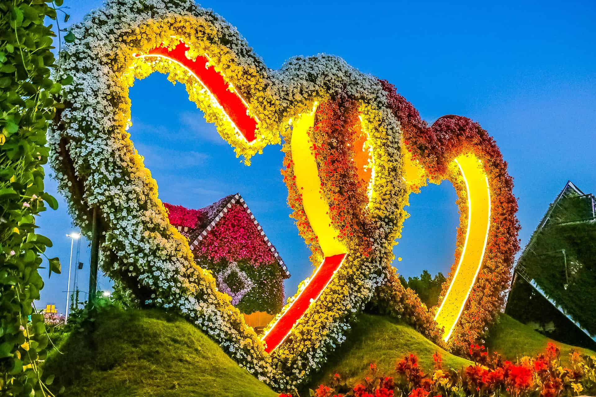 visiter miracle garden dubai