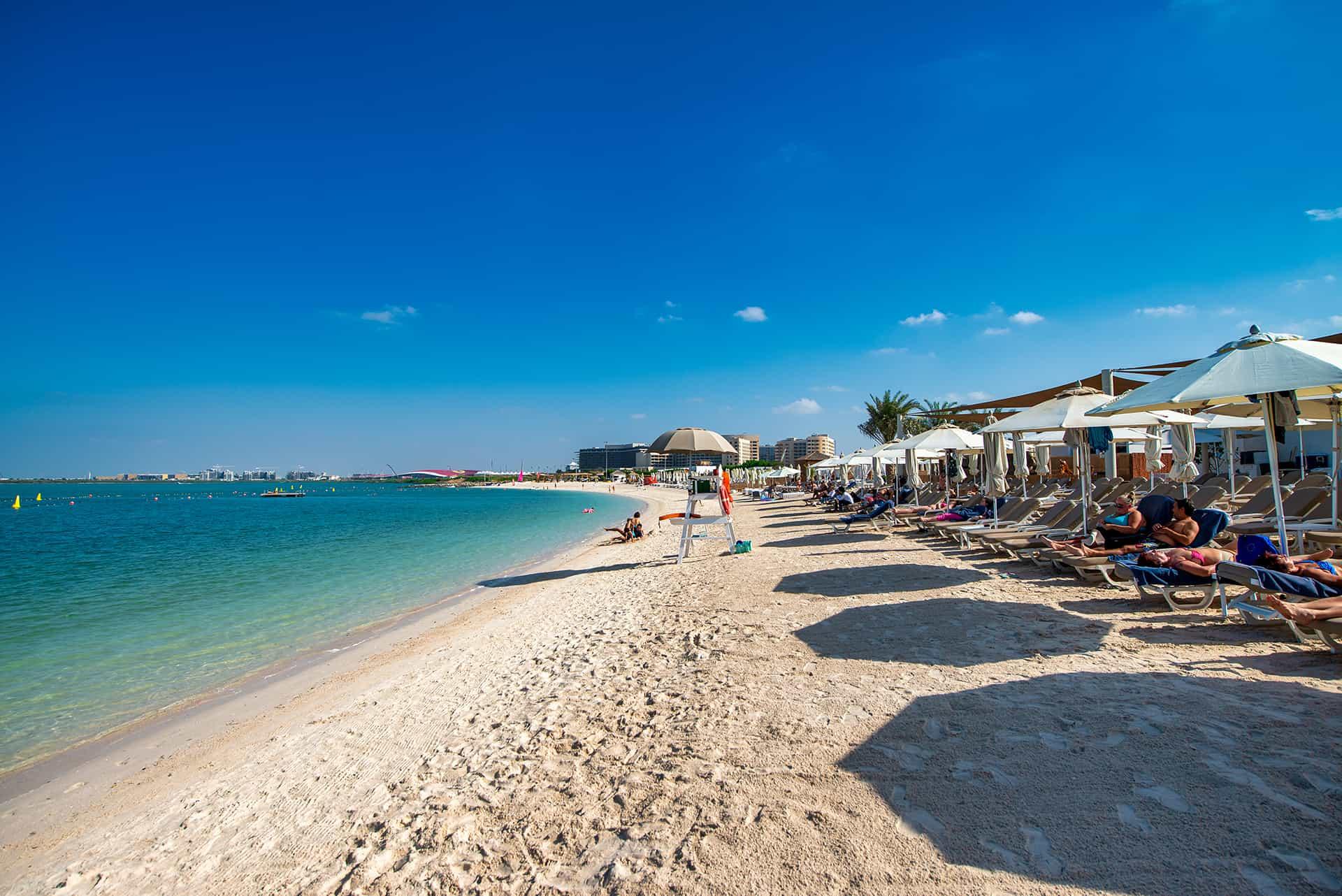 plage yas island